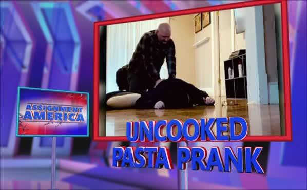 Assignment America: Uncooked Pasta Prank